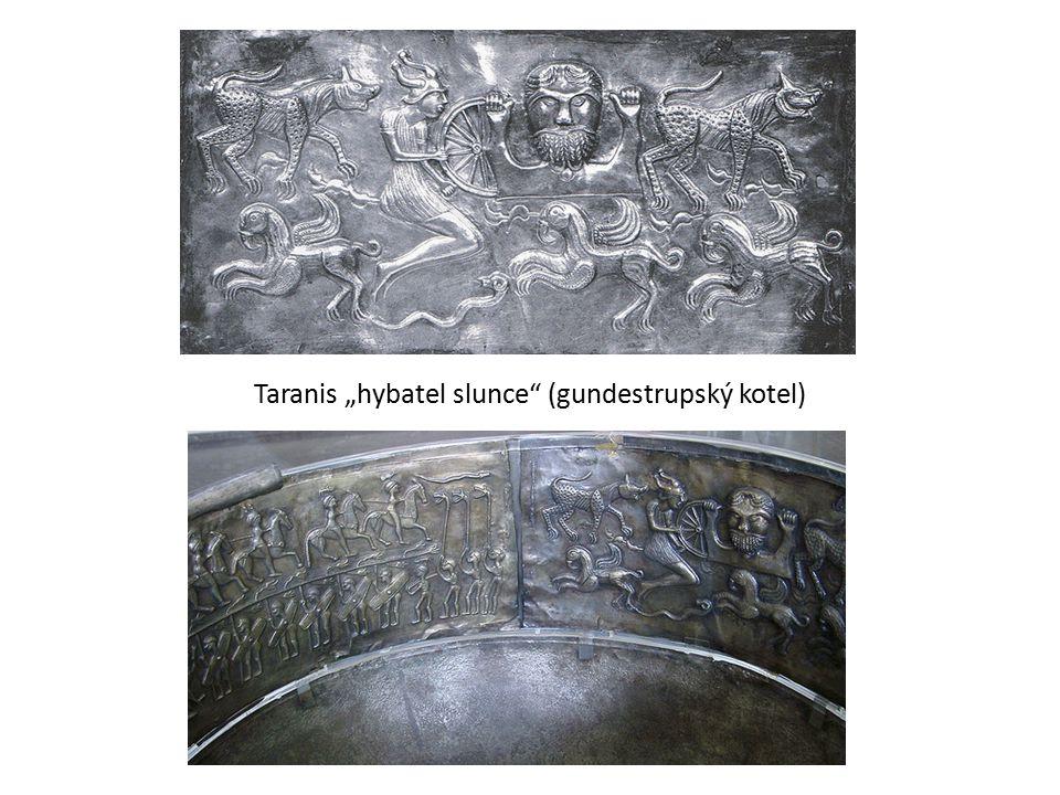 "Taranis ""hybatel slunce (gundestrupský kotel)"