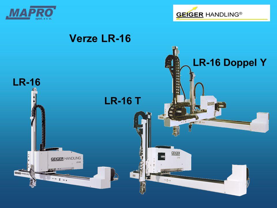 Verze LR-16 LR-16 Doppel Y LR-16 LR-16 T