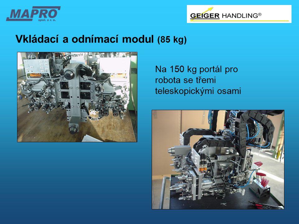 Vkládací a odnímací modul (85 kg)