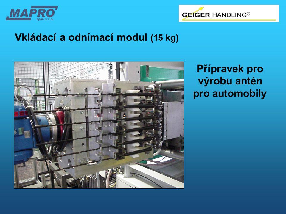 Vkládací a odnímací modul (15 kg)