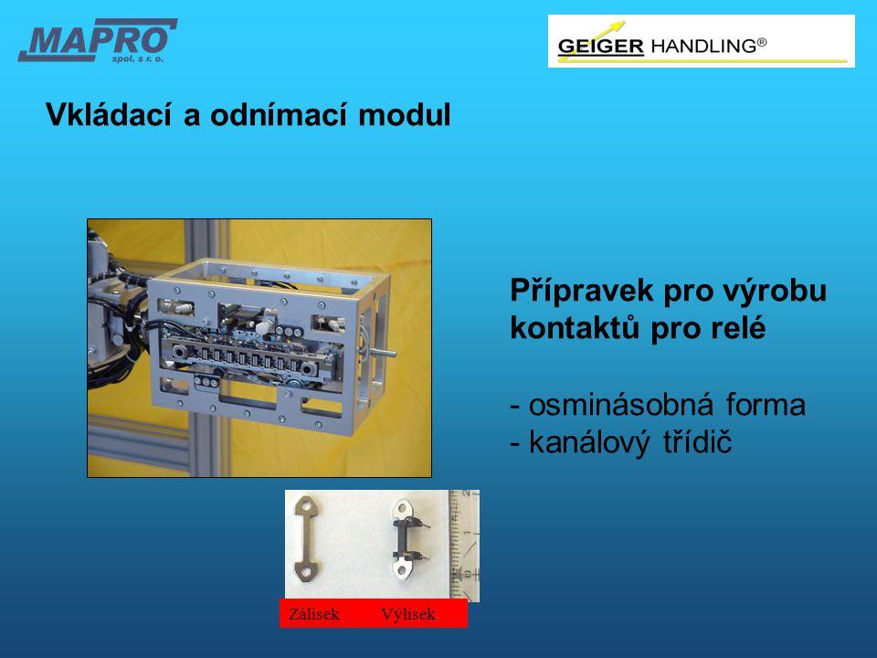 Vkládací a odnímací modul