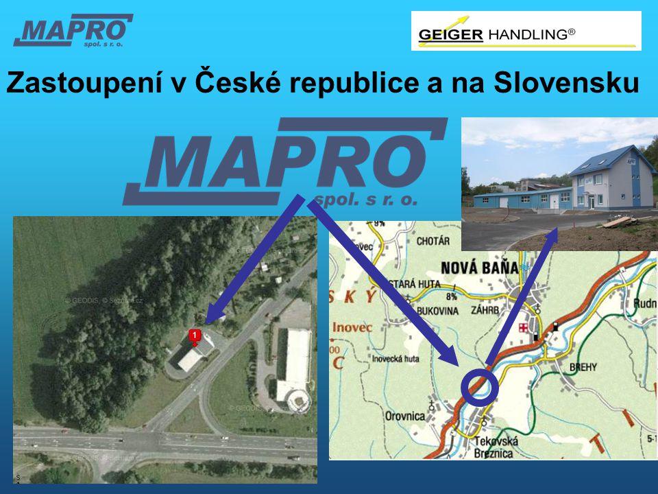 Zastoupení v České republice a na Slovensku