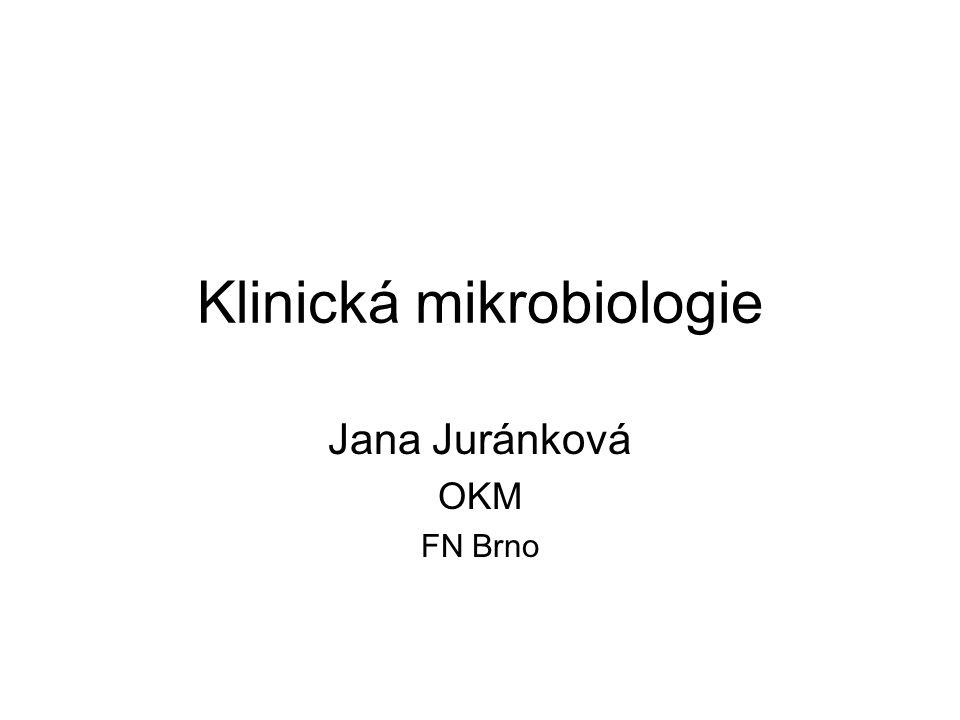 Klinická mikrobiologie