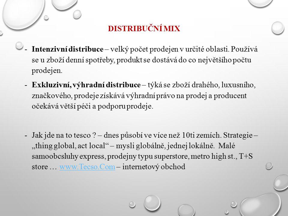 Distribuční mix