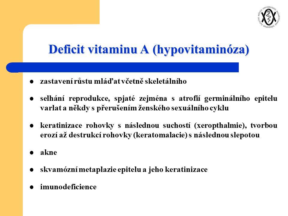 Deficit vitaminu A (hypovitaminóza)