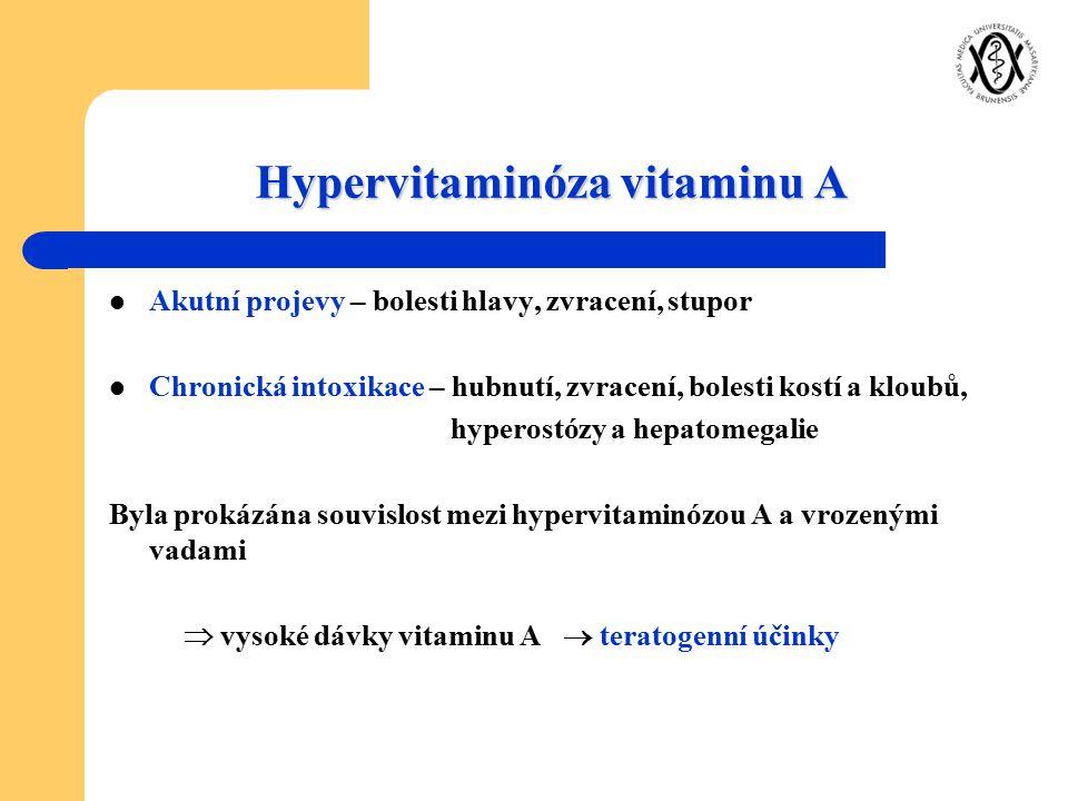 Hypervitaminóza vitaminu A