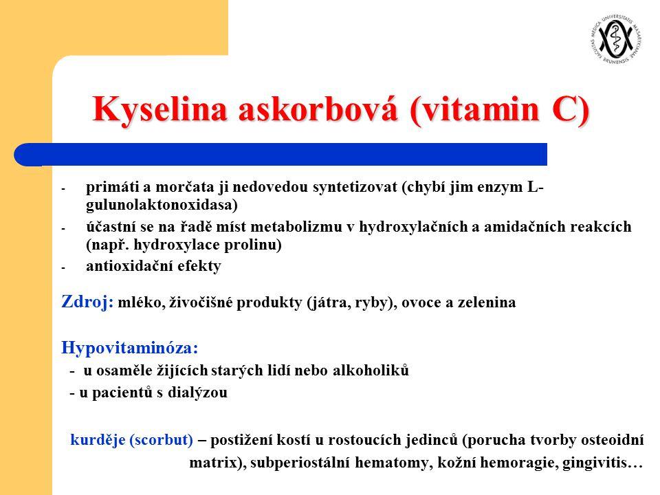 Kyselina askorbová (vitamin C)