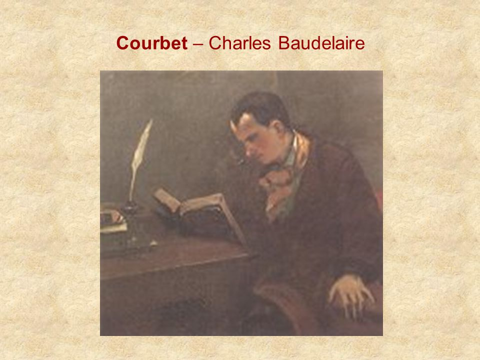 Courbet – Charles Baudelaire