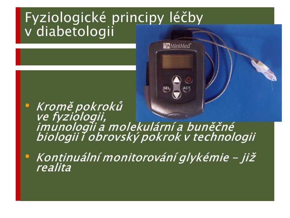 Fyziologické principy léčby v diabetologii