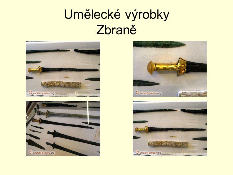 Umělecké výrobky Zbraně