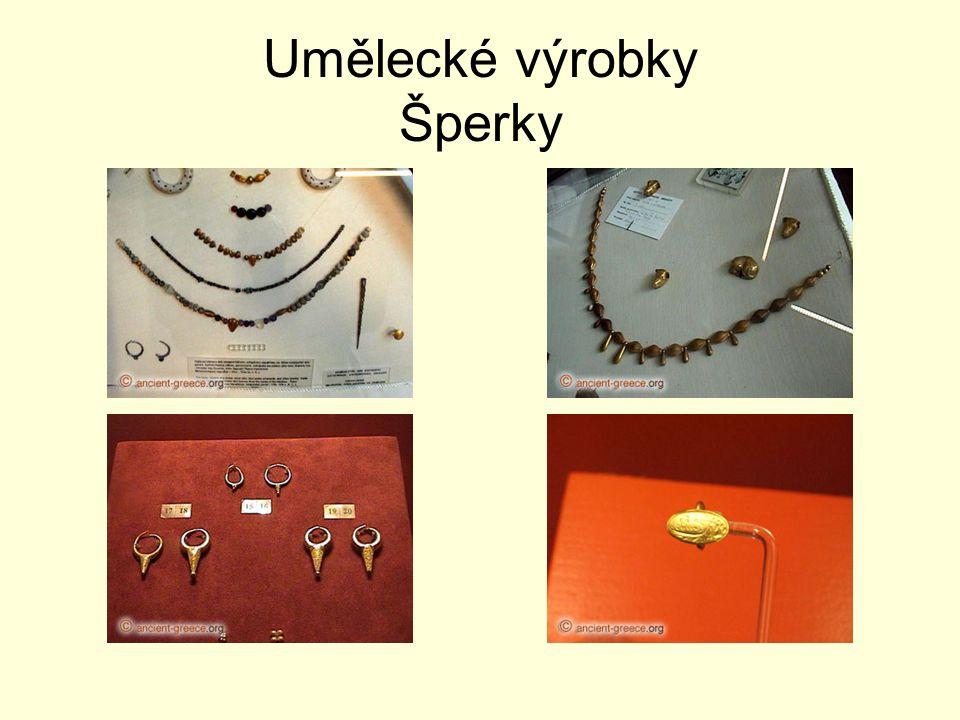 Umělecké výrobky Šperky