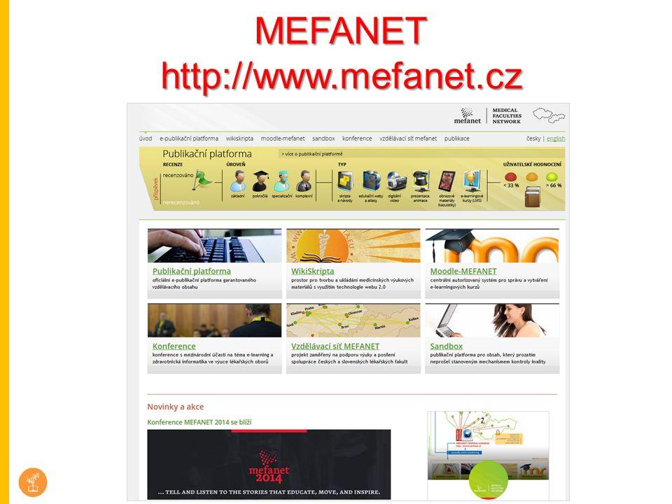 MEFANET http://www.mefanet.cz