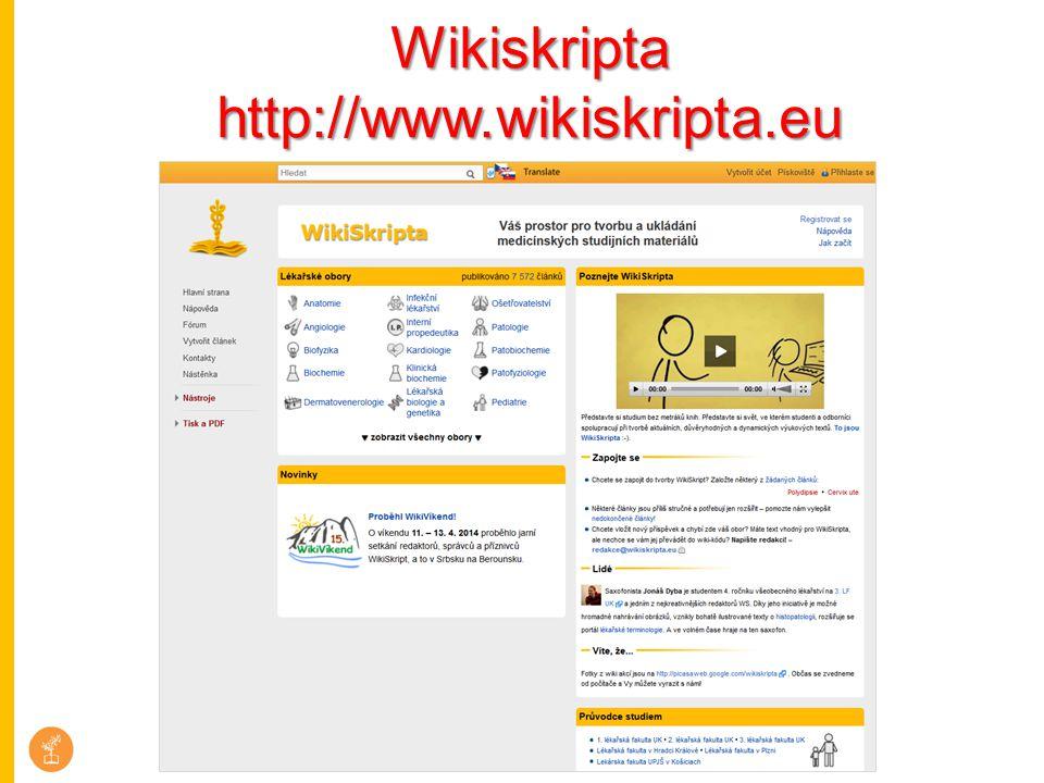 Wikiskripta http://www.wikiskripta.eu