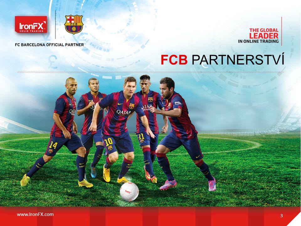 FCB PARTNERSTVÍ www.IronFX.com