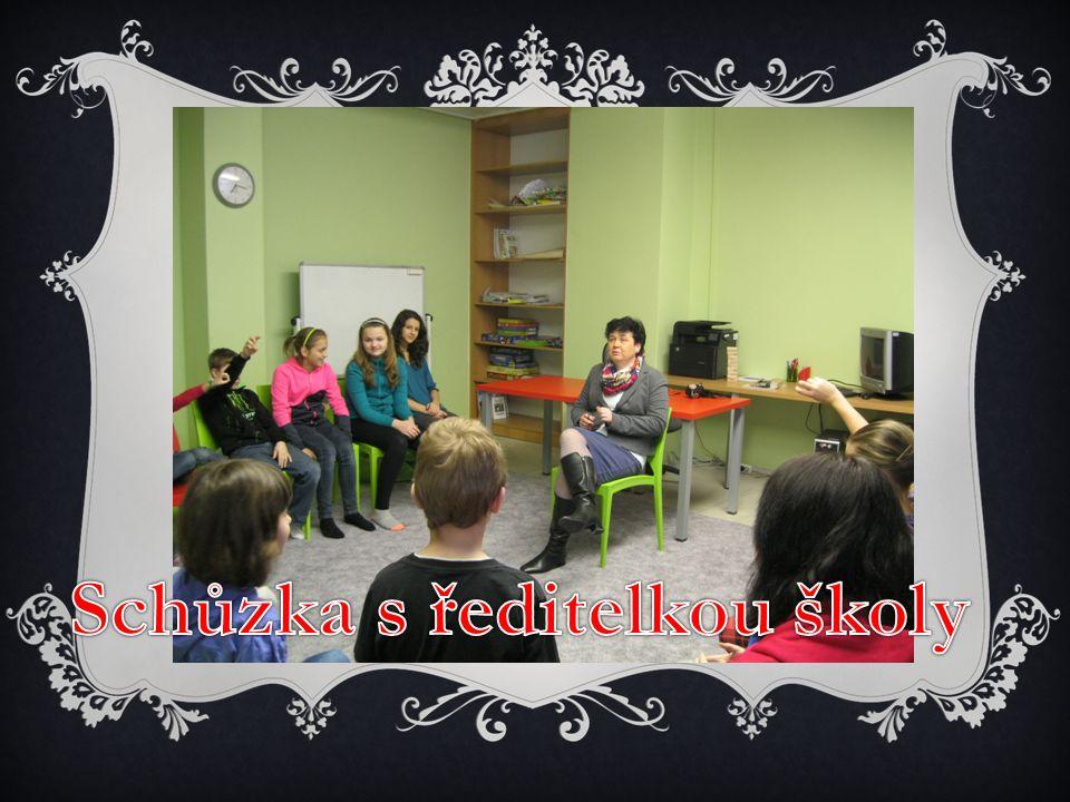 Schůzka s ředitelkou školy