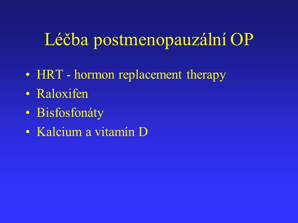 Léčba postmenopauzální OP