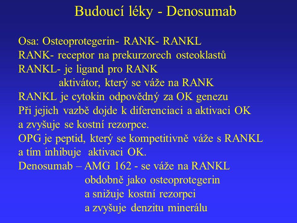 Budoucí léky - Denosumab