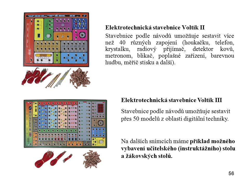 Elektrotechnická stavebnice Voltík II