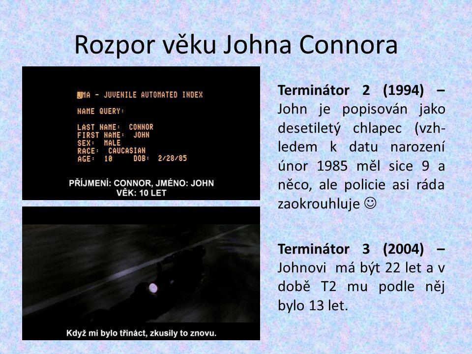 Rozpor věku Johna Connora