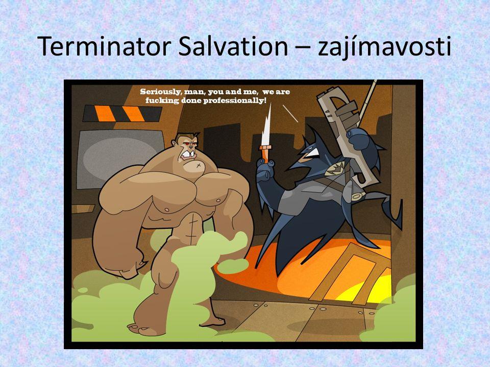 Terminator Salvation – zajímavosti