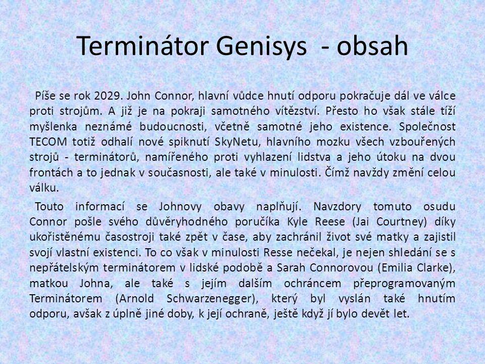 Terminátor Genisys - obsah