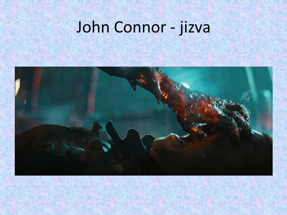 John Connor - jizva