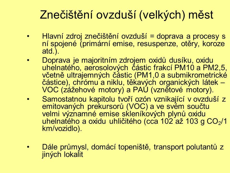 Znečištění ovzduší (velkých) měst