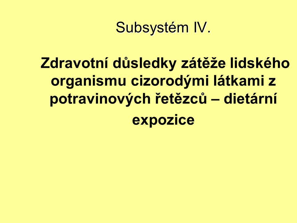 Subsystém IV.