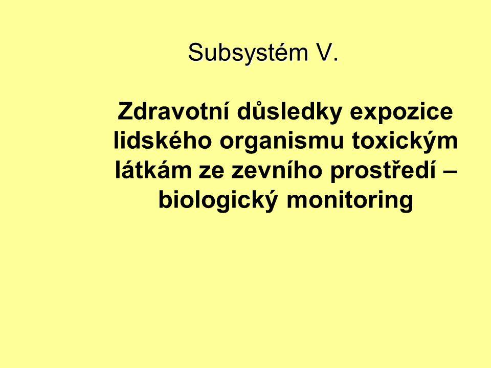 Subsystém V.