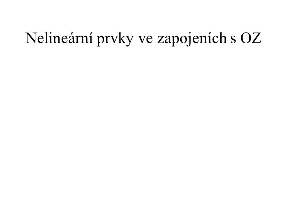 Nelineární prvky ve zapojeních s OZ
