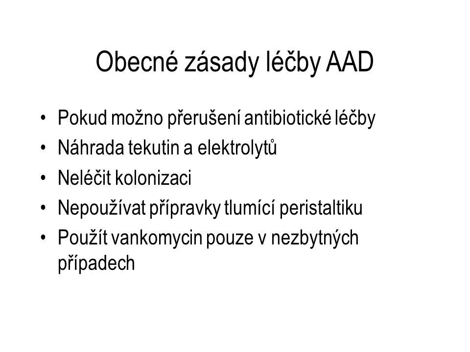 Obecné zásady léčby AAD