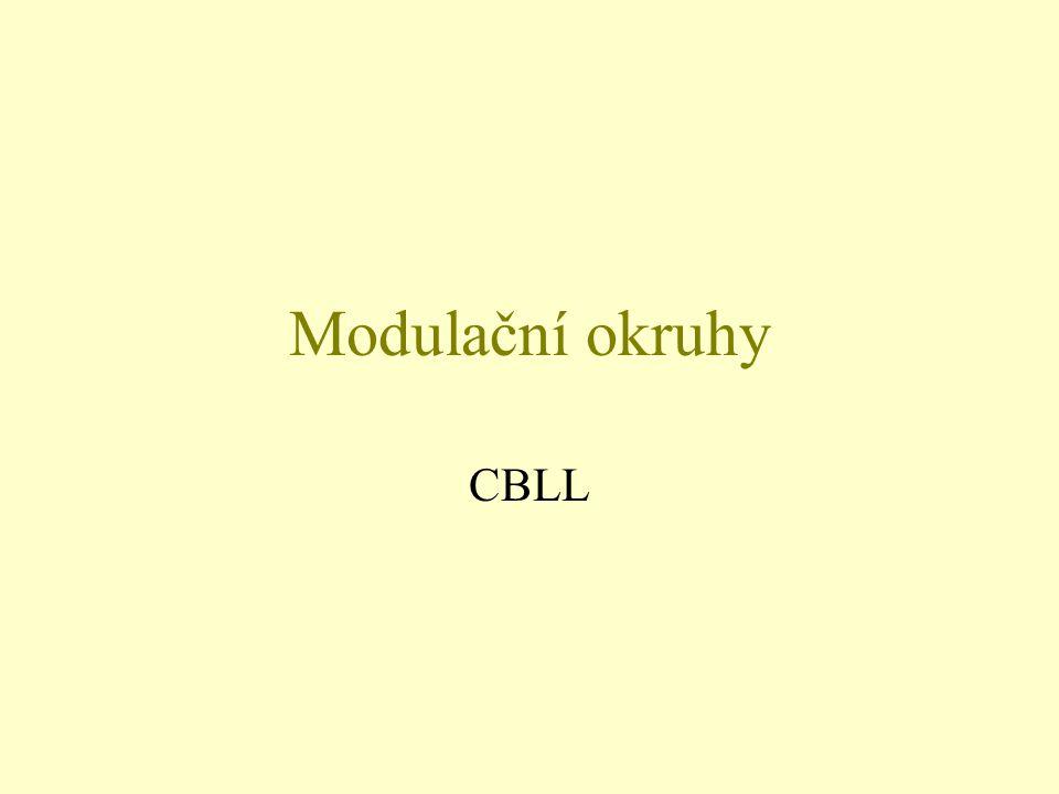Modulační okruhy CBLL