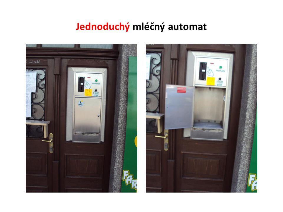 Jednoduchý mléčný automat