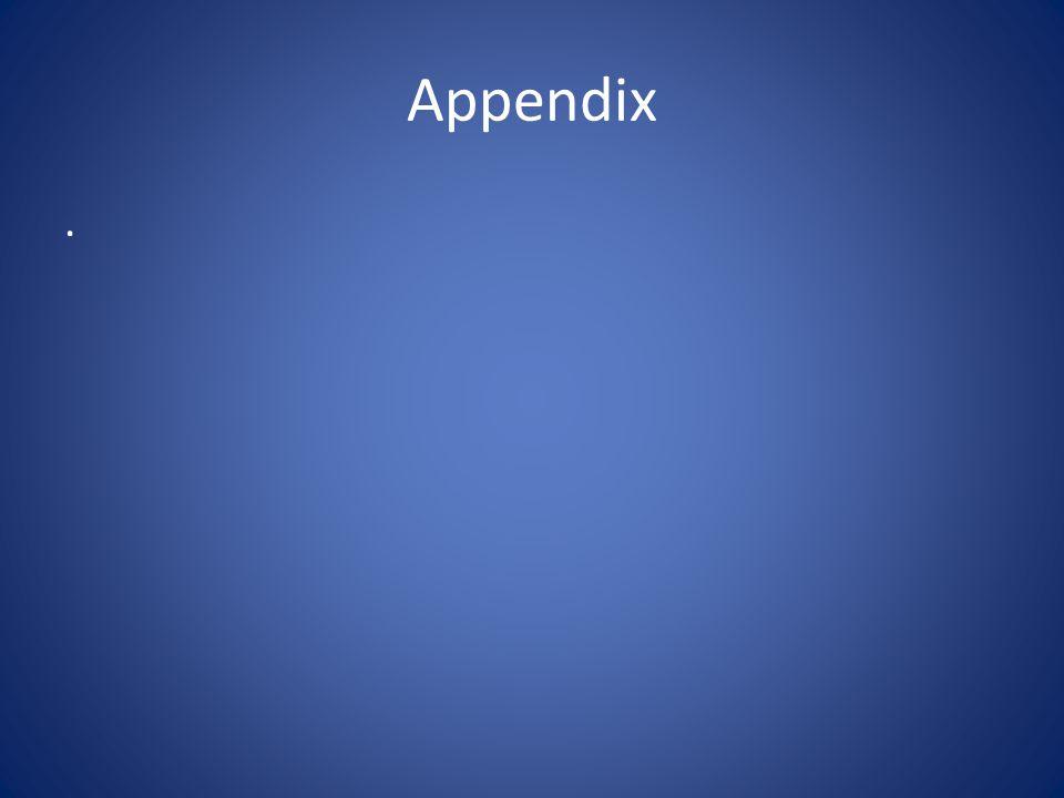 Appendix .