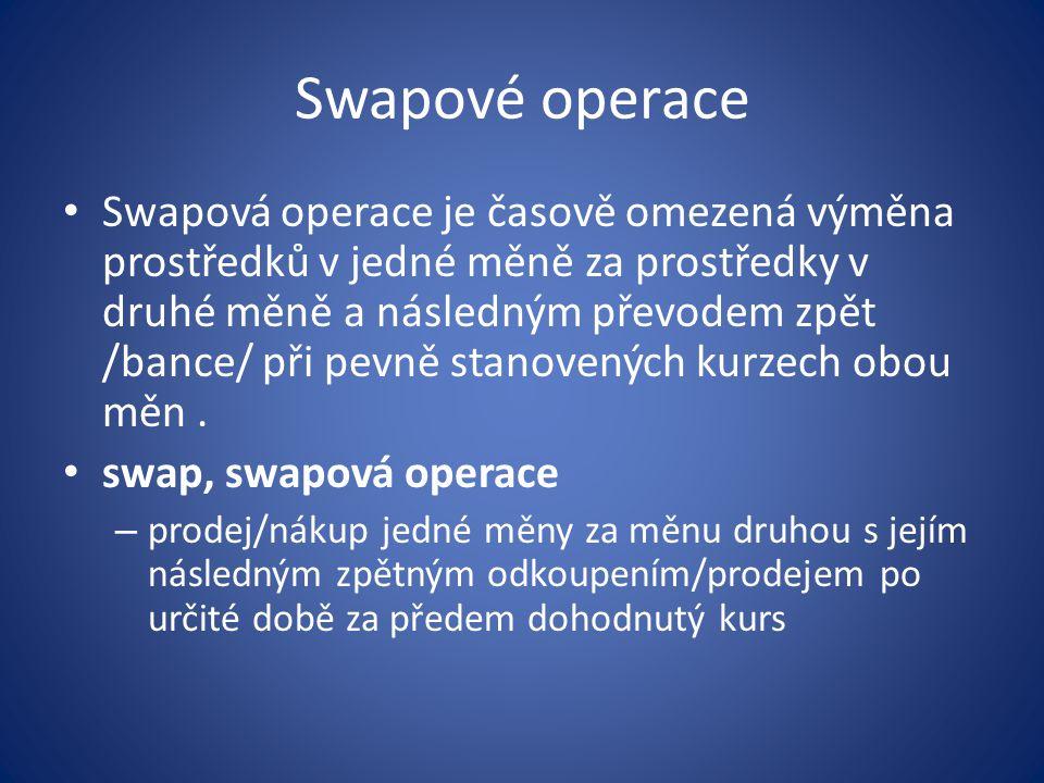 Swapové operace