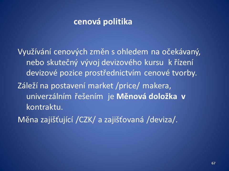 cenová politika