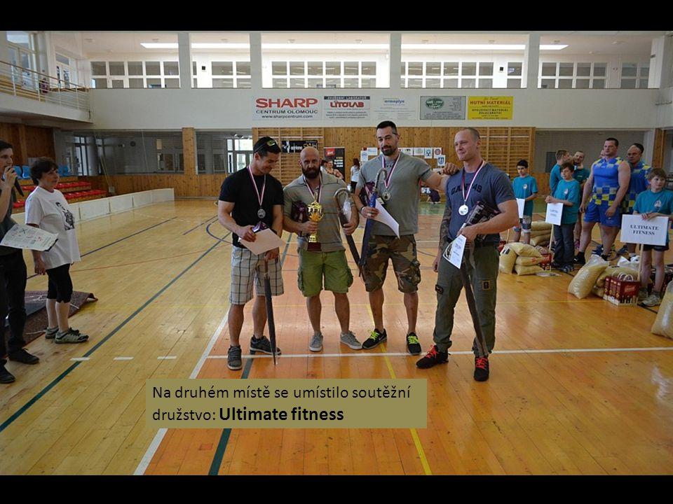 Na druhém místě se umístilo soutěžní družstvo: Ultimate fitness