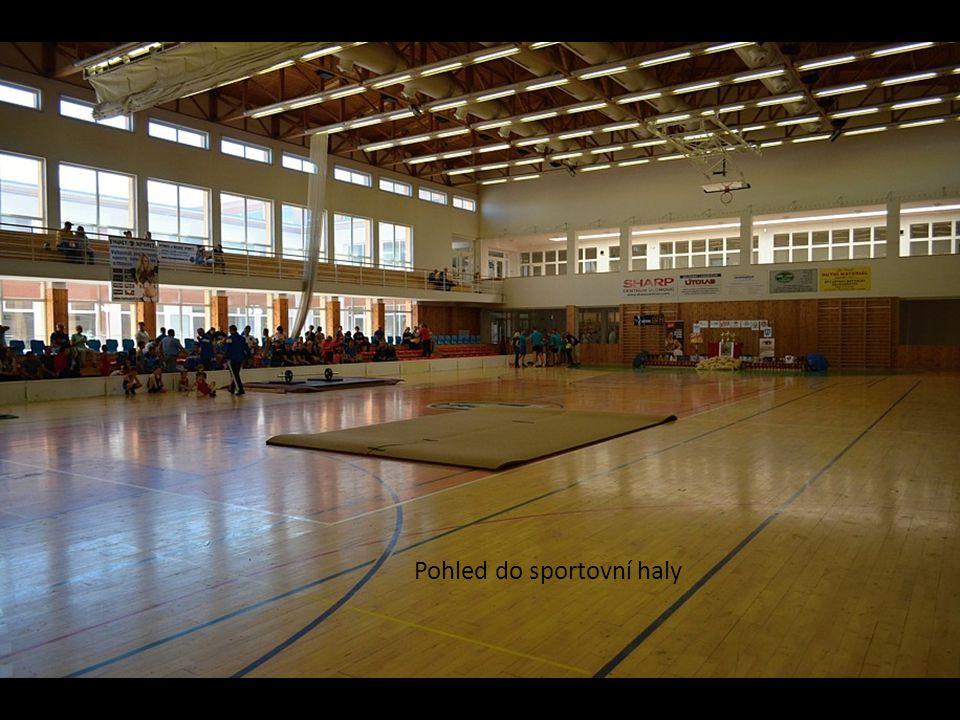 Pohled do sportovní haly