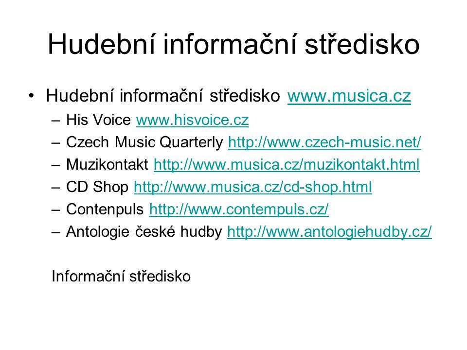 Hudební informační středisko