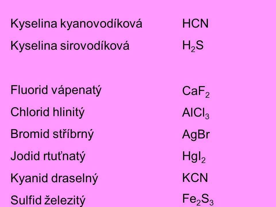 Kyselina kyanovodíková