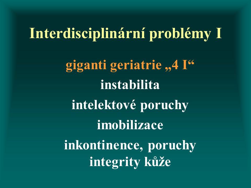 Interdisciplinární problémy I