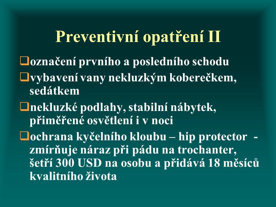 Preventivní opatření II