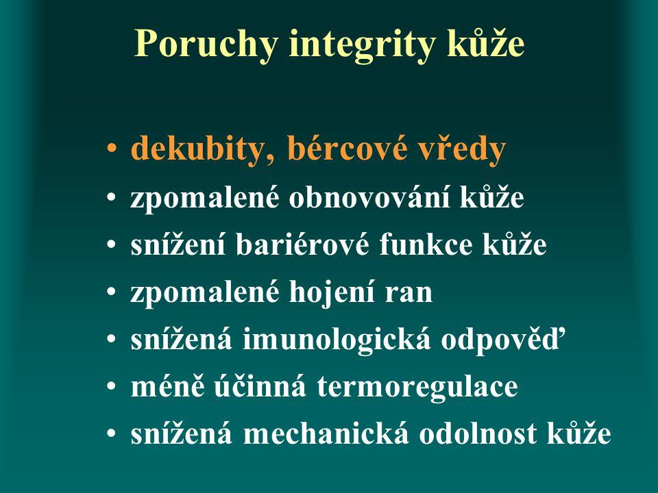 Poruchy integrity kůže