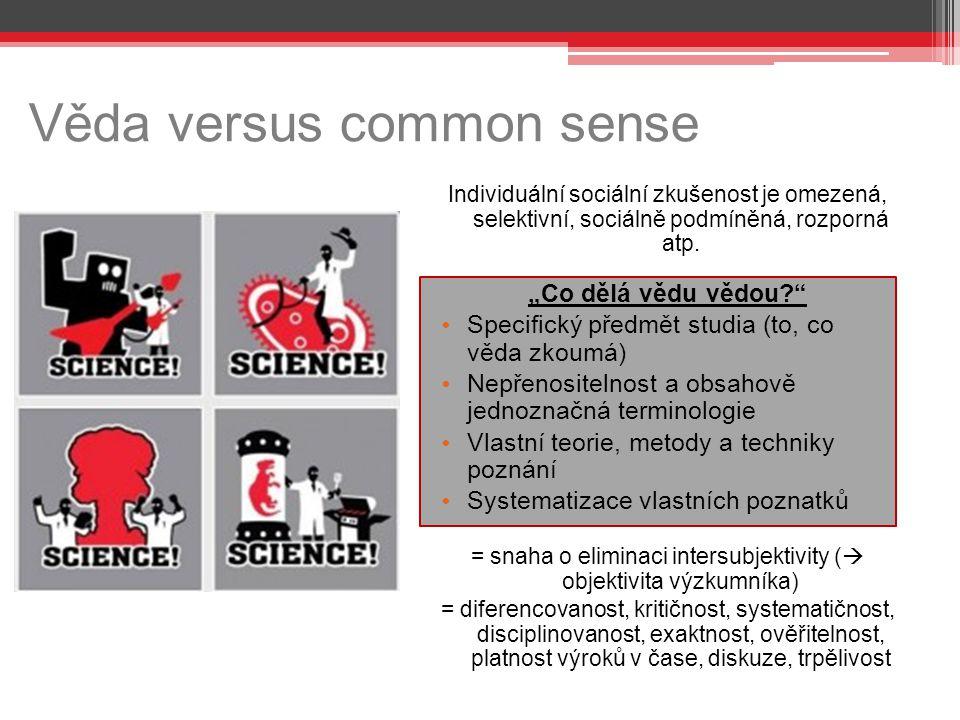 Věda versus common sense
