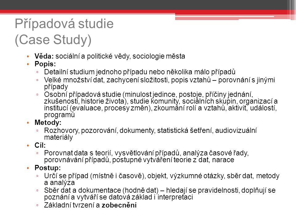 Případová studie (Case Study)