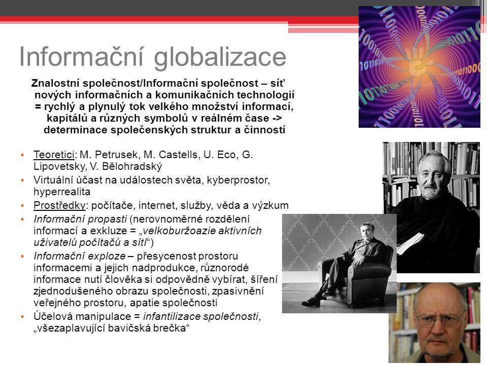 Informační globalizace