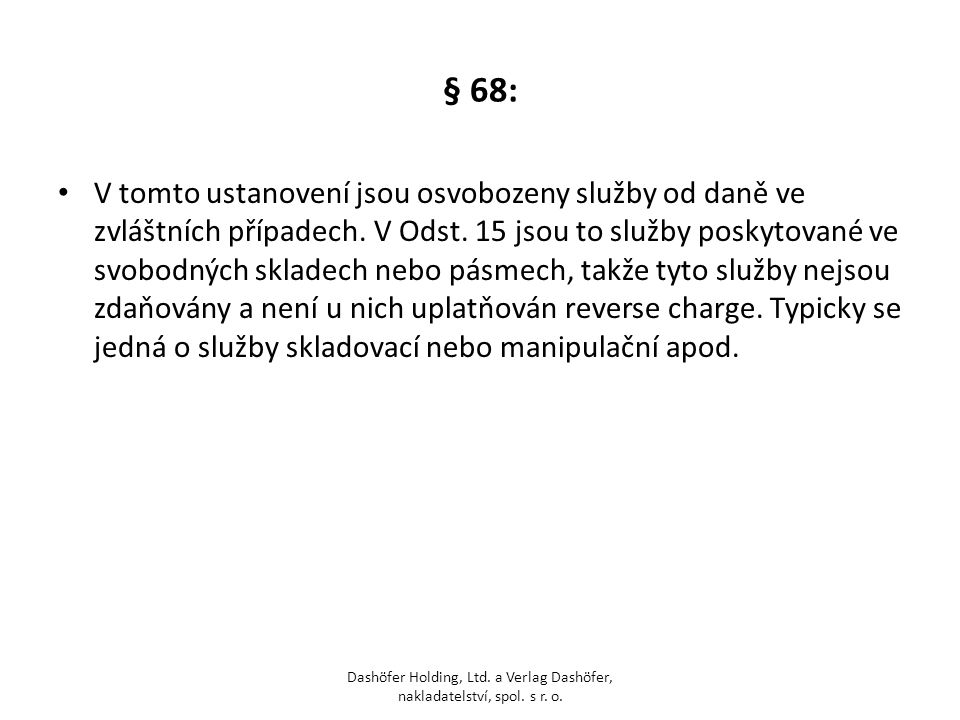 § 68: