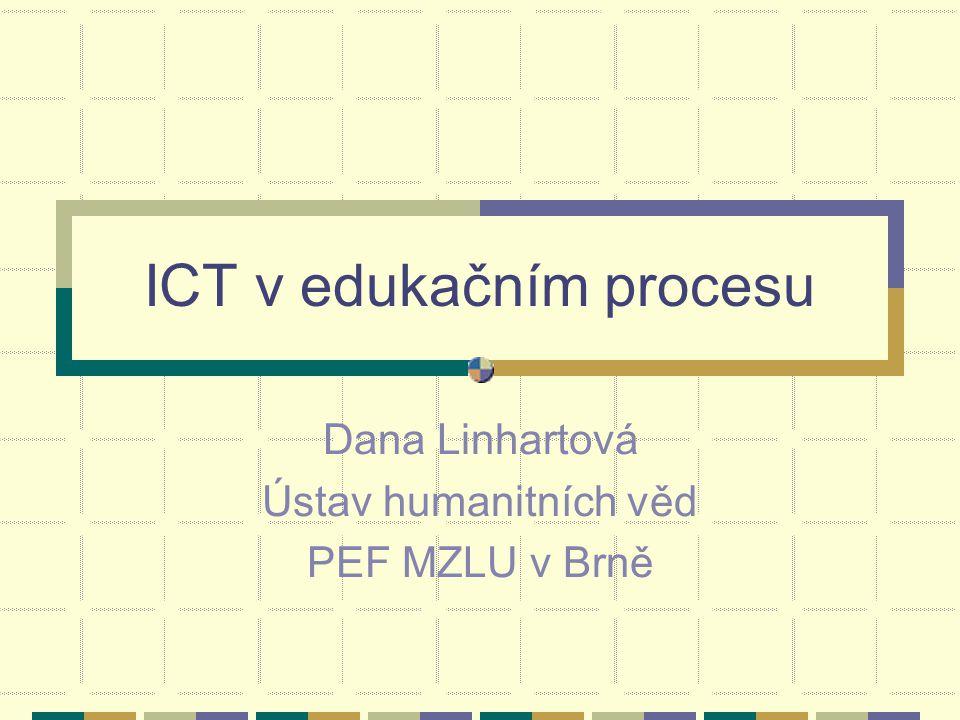 ICT v edukačním procesu