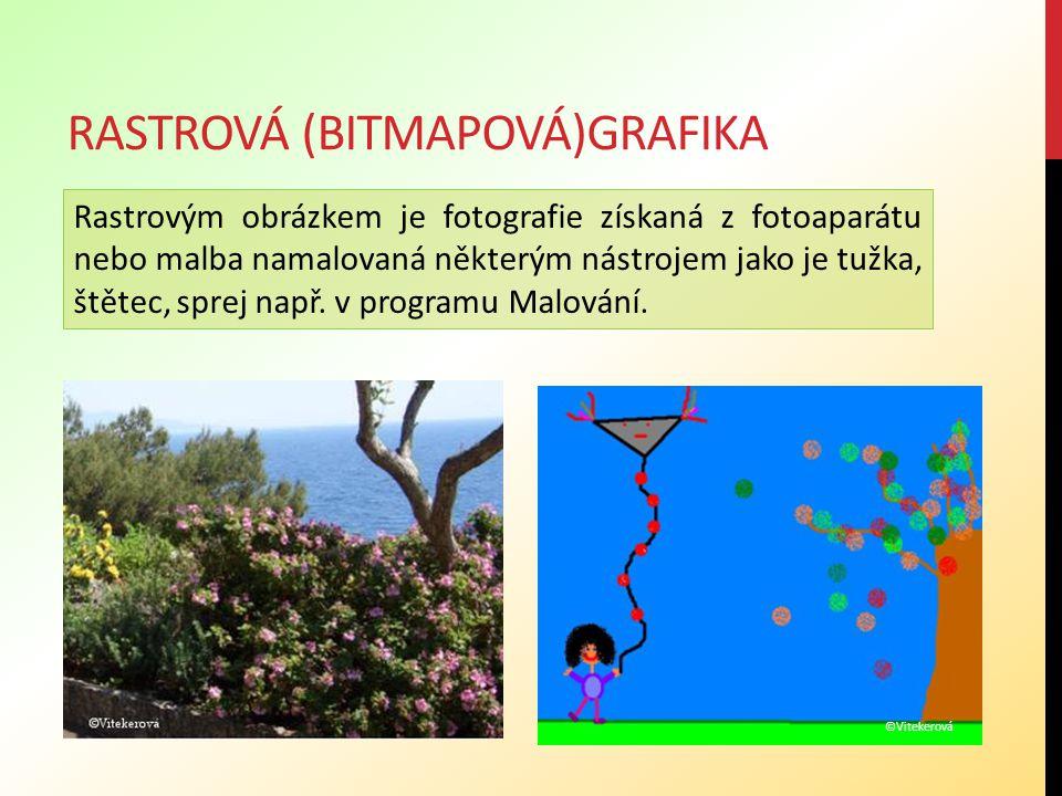 rastrová (bitmapová)grafika