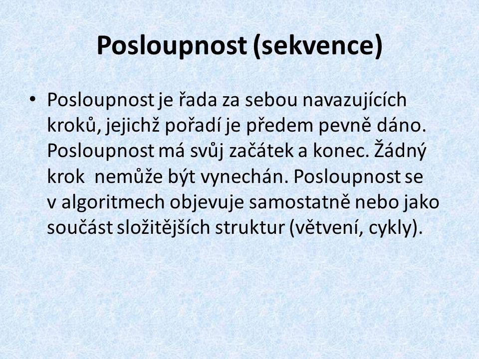 Posloupnost (sekvence)